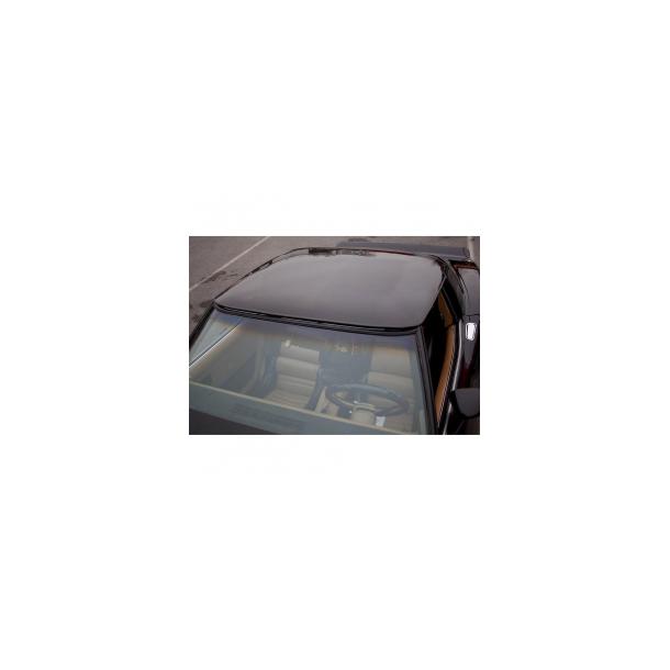 Corvette Roof Panel, Smoke Gray Acrylic,1pc. 68-82