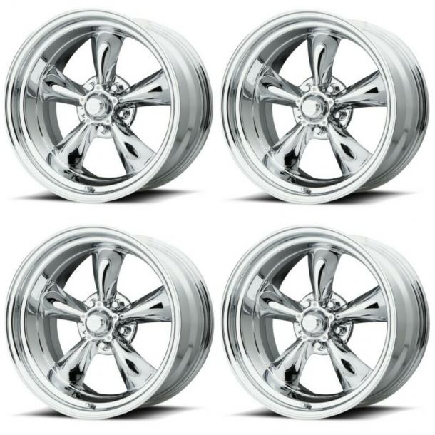 Corvette Torq-Thrust II C3 17X8  4 pc. set